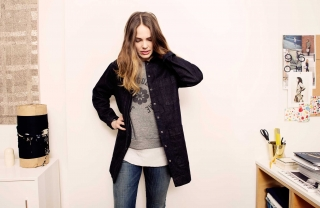 Jean of the Week: Être Cécile's Inverted Arrow Jacket