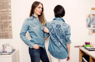 Jean of the Week: Mother Denim's Embroidered Shirts