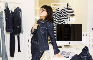 Norma Kamali's Decades in Denim